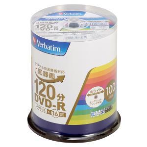バーベイタム 16倍速対応DVD-R 100枚パ...の商品画像