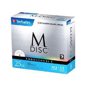 バーベイタム データ用4倍速対応 長期保存用BD-R10枚パック25GB ホワイトプリンタブル Verbatim 長期保存用BD-R「M-DISC」 VBR130YMDP10V1 返品種別A|joshin