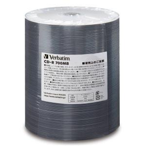 バーベイタム データ用48倍速対応CD-R 100枚シュリンクバルク600枚パック700MB ホワイトプリンタブル Verbatim SR80FW600B 返品種別A|joshin