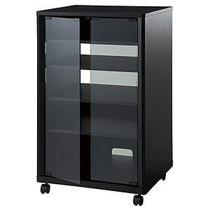 ハヤミ レギュラーコンポ用タテ型ラック ブラック TIMEZ(タイメッツ) NX-Bシリーズ NX-B301 返品種別A|joshin