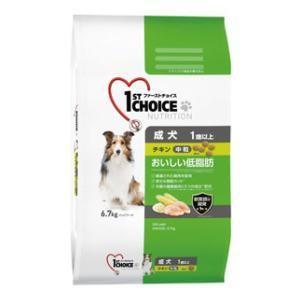 ファーストチョイス 成犬 1歳以上 中粒 チキン 6.7kg アース・ペット 返品種別B|Joshin web