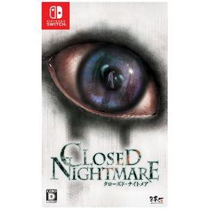 日本一ソフトウェア (Nintendo Switch)CLOSED NIGHTMARE 返品種別B