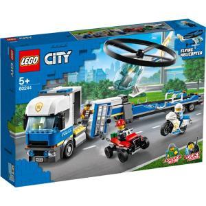 レゴジャパン レゴ(R)シティ ポリス ヘリコプターの輸送(60244) 返品種別B