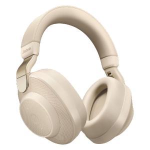 Jabra ノイズキャンセリング機能搭載Bluetooth対応ヘッドホン(ゴールドベージュ) Jab...
