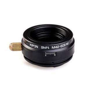KIPON マウントアダプター SHIFT M42-EOS M (ボディ側:キヤノンM42-EOS ...