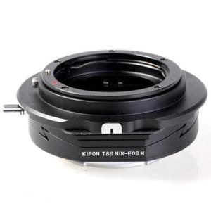 KIPON マウントアダプター T&S NIK-EOS M (ボディ側:キヤノンEF-M/ レンズ側...