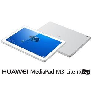 HUAWEI 10.1型タブレットパソコン 「HUAWEI MediaPad M3 Lite 10 wp」 シルバー※Wi-Fiモデル HDN-W09(M3LITE10WP) 返品種別B|joshin