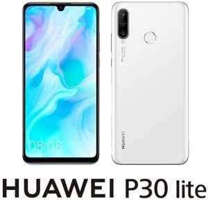 HUAWEI(ファーウェイ) P30 lite パールホワイト [6.15インチ /  メモリ 4G...