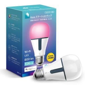 TP-Link LED電球 一般電球形 800lm(電球色〜昼光色相当) TPLINK Kasa スマートLEDランプ マルチカラー KL130 KL130 返品種別A|joshin