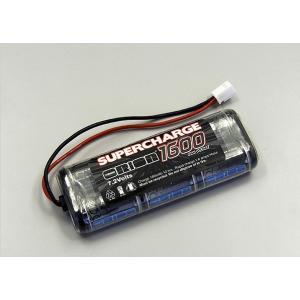 京商 (再生産)ニッケル水素バッテリー スーパーチャージ1600 7.2V-スティックパック(マイクロプラグ)(ORI13044)ラジコン用バッテリー 返品種別B|joshin