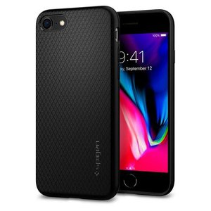 Spigen iPhone 8/ 7用 ケース リキッドエアー(ブラック) 042CS20511 返...