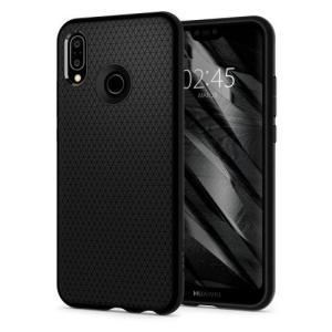Spigen Huawei P20 Lite/ Nova 3e用 ケース リキッドエアー(ブラック)...
