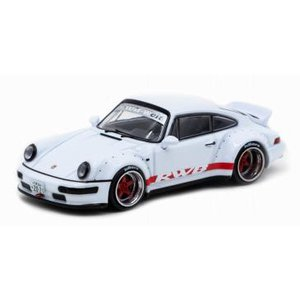 ターマックワークス 1/ 64 RWB 964 White /  Red stripe Duckta...