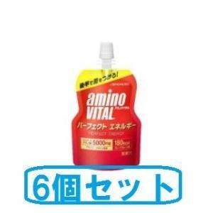 アミノバイタル パーフェクトエネルギー130g 6個セット 味の素 アミノVパ-フエクトエネルギ- 返品種別B|joshin