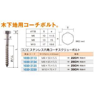 材質:ステンレス  サイズ:M10×75×7mm  入数:1本  ※メーカーからの直送となる場合がご...