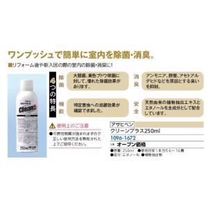 除菌 消臭 クリーンプラス250ml アサヒペン joule-plus