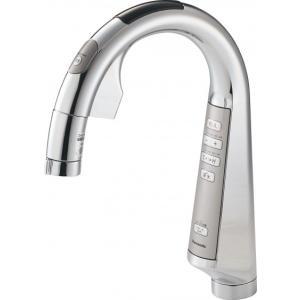 パナソニック製(Panasonic)QS01FPSWTEB スリムセンサー水栓 浄水器一体 ▼浄水器 一般地用 [納期約2週間] jousuiki