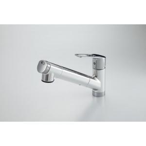 KVK製(Panasonic)QSKM6001EPC 浄水器一体型シャワー混合水栓(浄水カートリッジ内蔵) ▼浄水器 一般地用 [納期約2週間] jousuiki