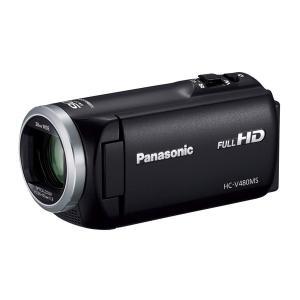 パナソニック デジタルハイビジョンカメラ HC-V480MS-K 32GB ブラック