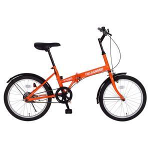 自転車 20インチ折りたたみ自転車 シングルギア FIELD CHAMP FDB20|jowaoutlet