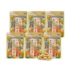 154種の植物・穀物酵素粒 6袋...