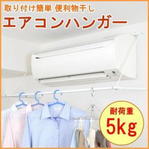 エアコンハンガー 耐荷重5kg ACH-1 室内物干し 室内 物干し 物干 部屋干し 速乾ハンガー