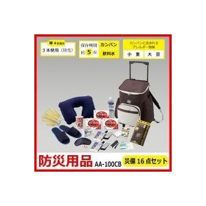 【代引き・同梱不可】防災用品 災備16点セット AA-100...