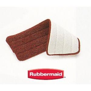 10月初旬入荷予定  Rubbermaid 交換用ウエットパッド 1枚   (マイクロファイバースプ...