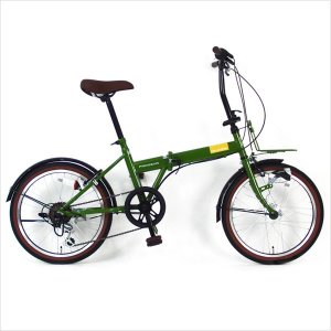 装備満載で使いやすい20インチ折り畳み自転車! サイズ 20インチ カラー ネイビー カーキ  ベー...