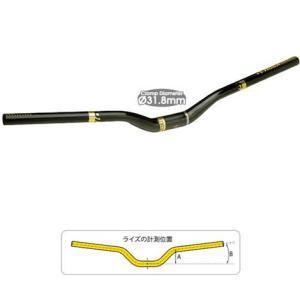 MTBアルミハンドルバー TIOGA タイオガ 40 ライズ/d HBR12300 M 自転車用部品|joy