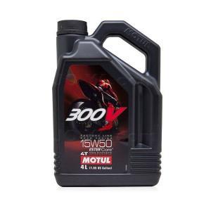 MOTUL(モチュール) 300V FACTORY LINE ROAD RACING 15W50 (ファクトリーラインロードレーシング) 4L|joyacom