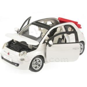 FIAT 1/24 500C ホワイト ( 純正品 )