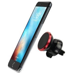SmartTap マグネット式 車載ホルダー Easy Magnet レッド L0546|joyacom