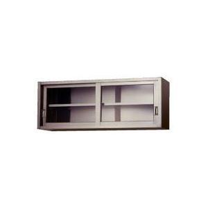 (要 納期確認) (吊り戸棚ガラス戸 高さ : 450タイプ)600 x 300 x H450 (送料無料)|joycooking