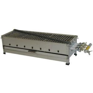(山下金物ジャンボ串焼器)天然ガス用 750 (送料無料)|joycooking