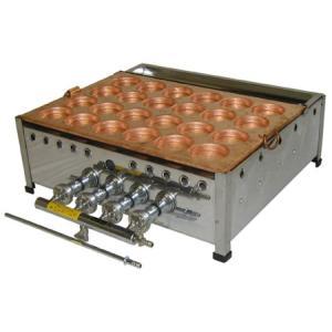 (山下金物大判焼き器)天然ガス用 24穴 (送料無料) joycooking