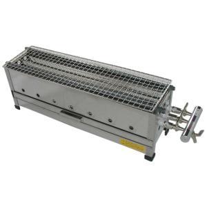(山下金物[ガス式]焼き鳥器)天然ガス用 2尺 (送料無料)|joycooking