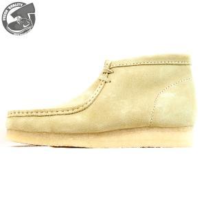 CLARKS  WALLABEE BOOT  MAPLE SUEDE  26133283  クラークス  ワラビー ブーツ  メープル スエード  メンズ  【並行輸入品】|joyfoot