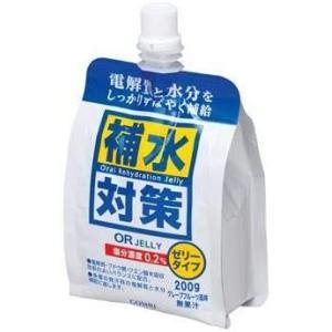 200g×36袋入り おいしく・すばやく水分補給 熱中症対策に 清涼飲料水 ゼリー飲料 補水対策 オーアールゼリー  五洲薬品|joyfulgame