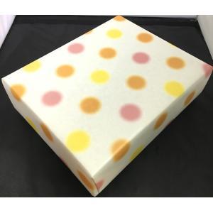 包装紙  水玉  赤  2511-096 joyfulgame