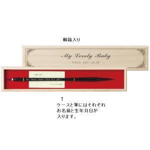 胎毛筆 赤ちゃんの筆 ヨーロピアンタイプ〈お仕立て券〉Aタイプ 4791-039|joyfulgame