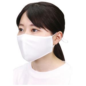 ☆ 抗菌・速乾 マスク 熱中症対策と紫外線対策 繰り返し洗濯可能 ゴムの調節可能 1枚入り ひんやりUVカットマスク 白色 51152|joyfulgame