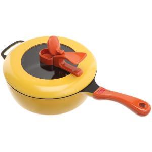 平野レミのキッチンアイテム。 「蒸す」「揚げる」「焼く」「煮る」「炒める」「炊く」 と使い方次第でレ...