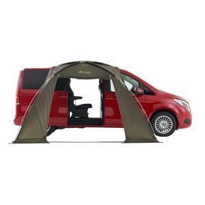 LOGOS ロゴス 車中泊専用タープ 車 カーサイドタープ テント (1BOX・ミニバン) neos ALカーサイドオーニング AI カーサイドオーニング 71805055|joyfulgame