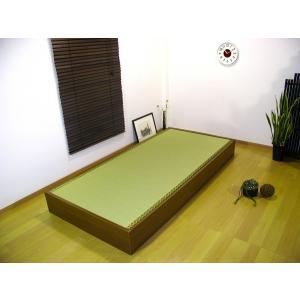 畳と床板を外せば 収納スペースとして活用できます!  寸法/ W約95×L約200×H約21cmMH...