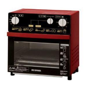アイリスオーヤマ ノンフライ 油がいらない 熱風オーブン 油で揚げずにサクッと調理 FVH-D3A-R FVH-D3A|joyfulgame