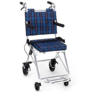 小回りがききます コンパクト介助車 マキテック 車椅子 車いす コンパクト介助車 カルティ NP-200NC|joyfulgame