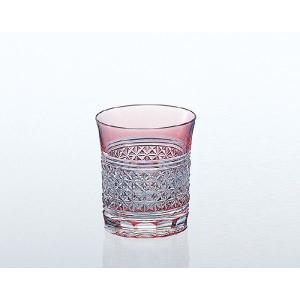 カガミクリスタル  ロックグラス 麻の葉紋 T542-1441-CAU|joyfulgame