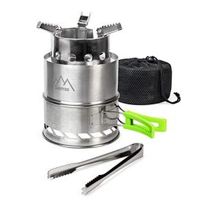 Sierras Camping Stove Stainless Steel, Portable, B...
