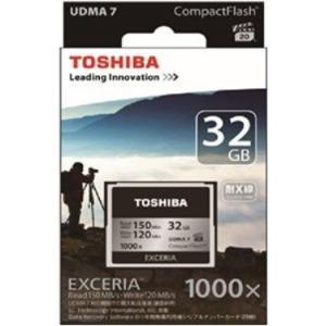 東芝 CF-EZ032 コンパクトフラッシュ 32GB EXCERIA|joyfulokuda-yh|02